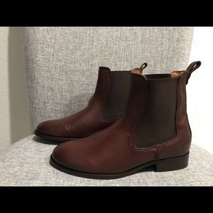 Frye Shoes - Frye Melissa Short Chelsea Boots  Leather Country